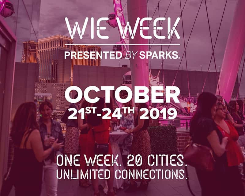 Sparks presents Women in Events Week kicking off in 20 Cities.