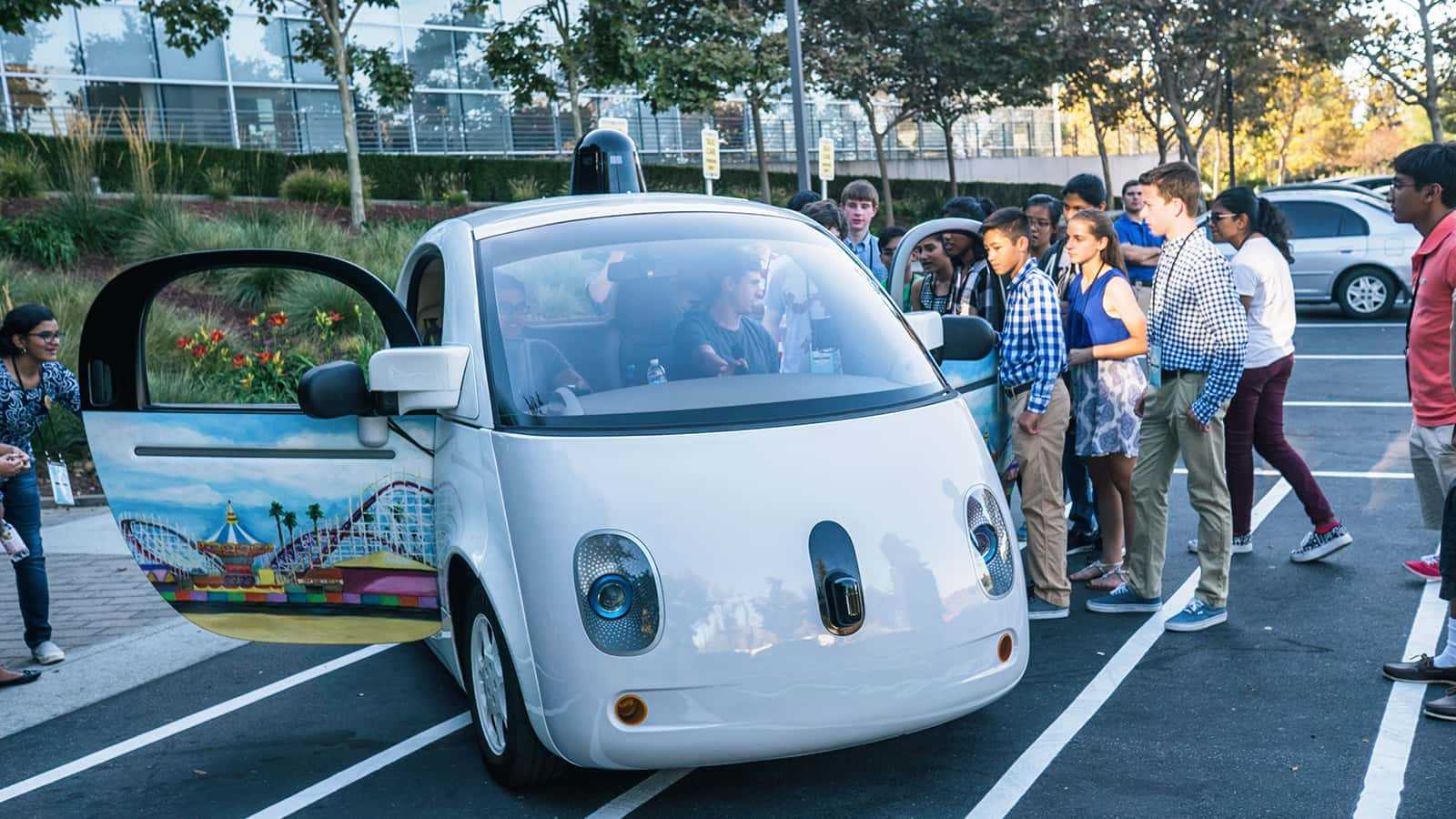 google science fair - smart car