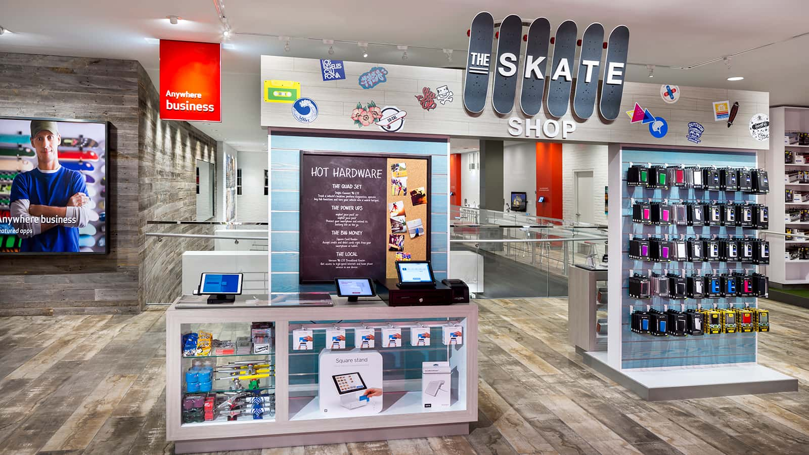 Verizon Destination Store Santa Monica 2016 The Skate Shop Anywhere Business zone