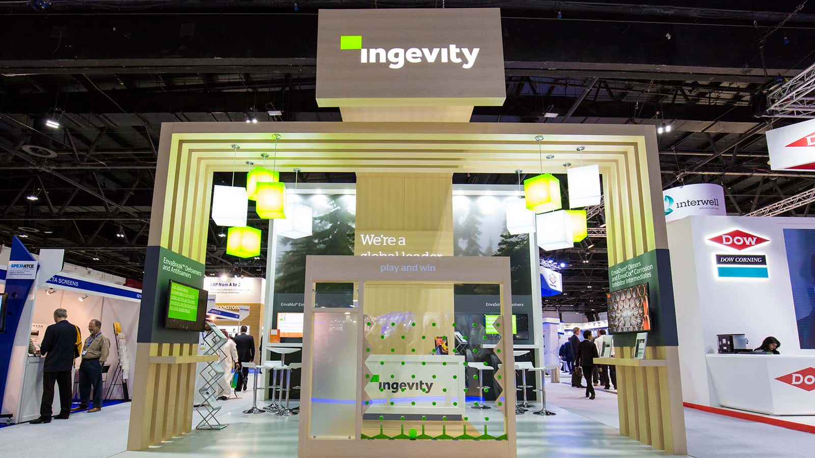 Front view of Ingevity SPE ATCE experience 2016.