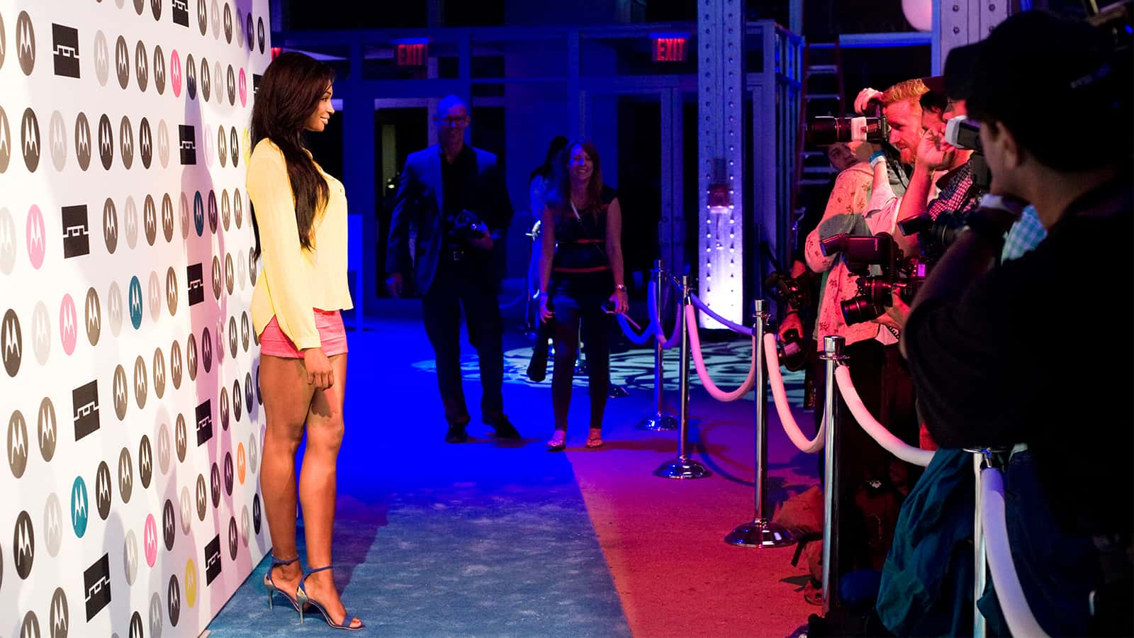 Celebrity sightings at the Moto X product launch at the Tunnel night club in 2013.