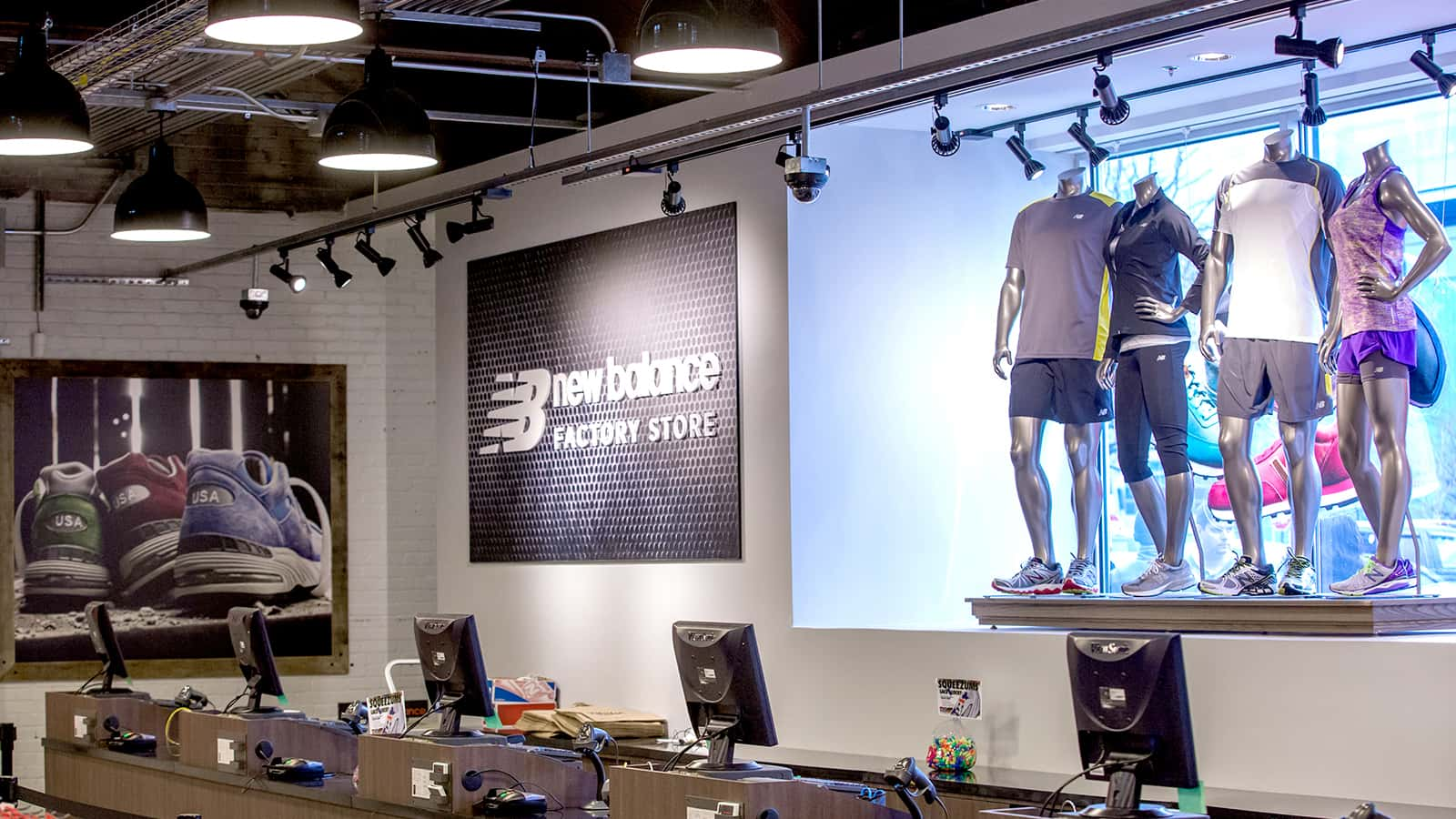 New Balance factory stores 2014 checkout.