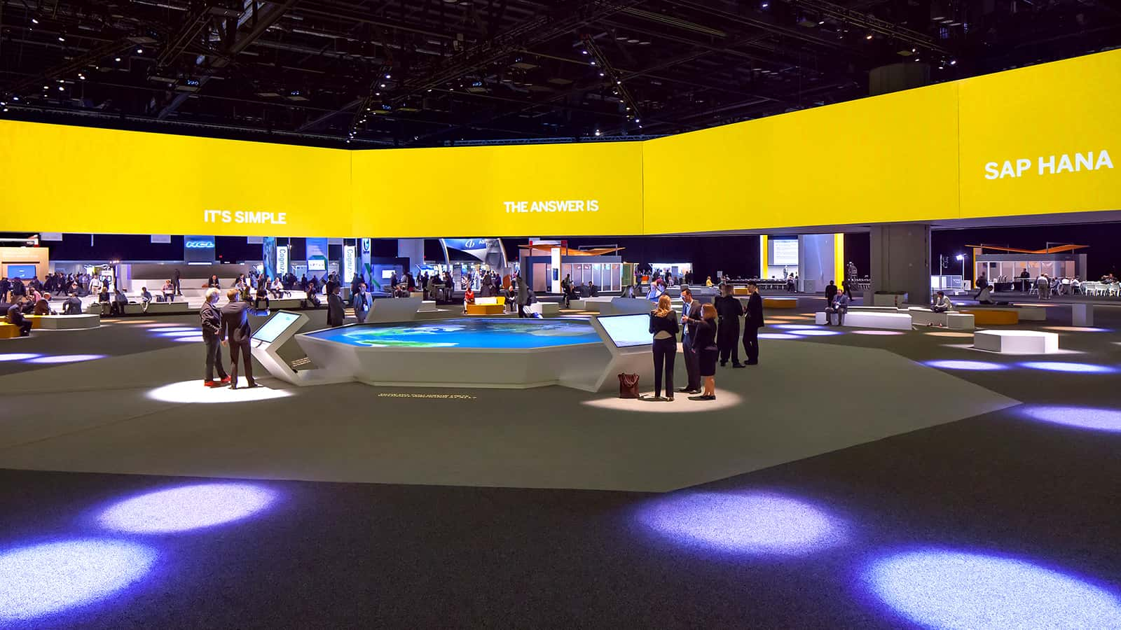 SAP SAPPHIRE NOW conference 2015 informal meeting area.