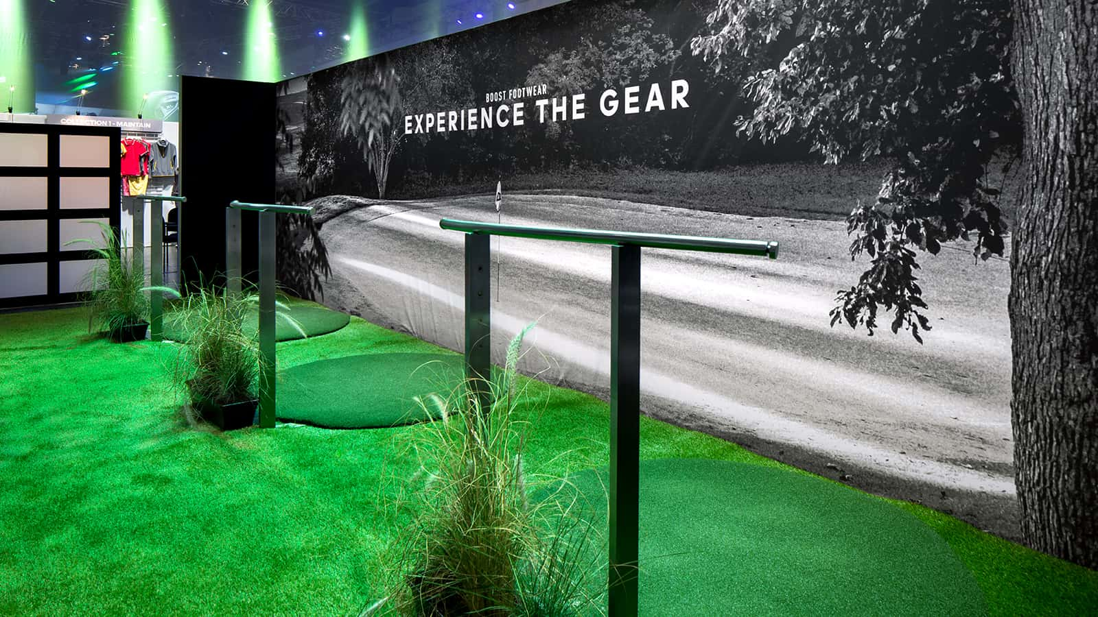 Experience the Gear Boost Footwear zone at the adidas Golf PGA Merchandise Show 2017 experience.